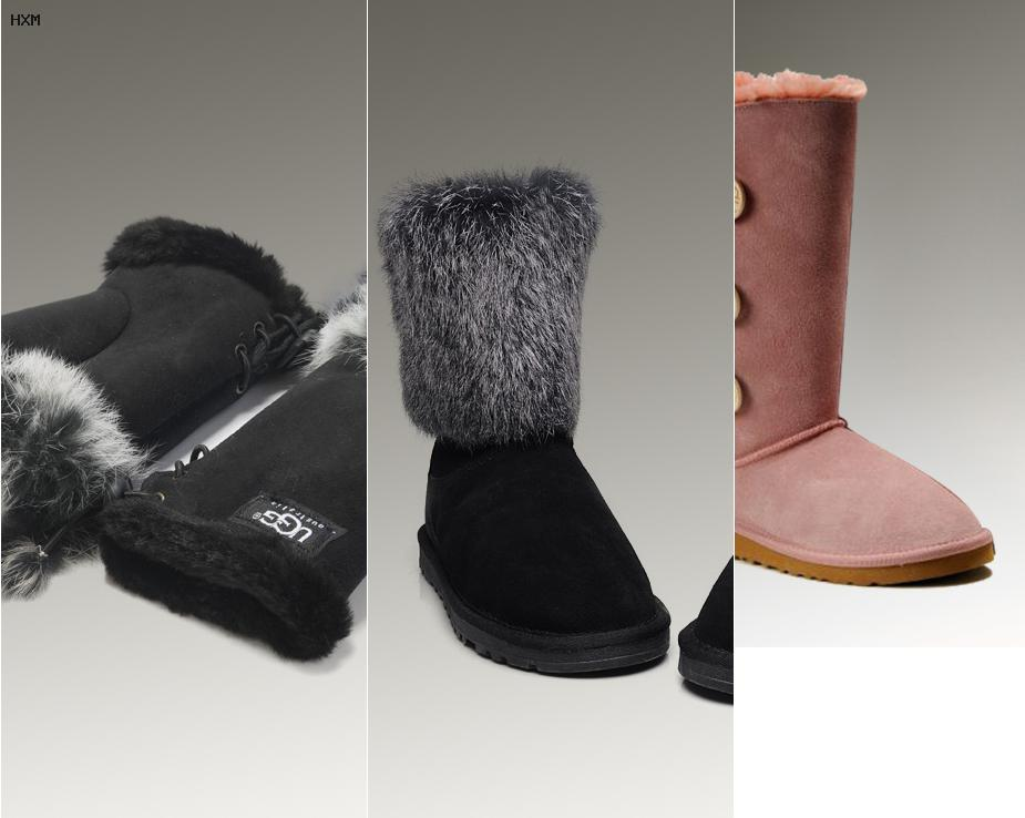 ugg australia mini bailey button snowboot winterstiefel sand