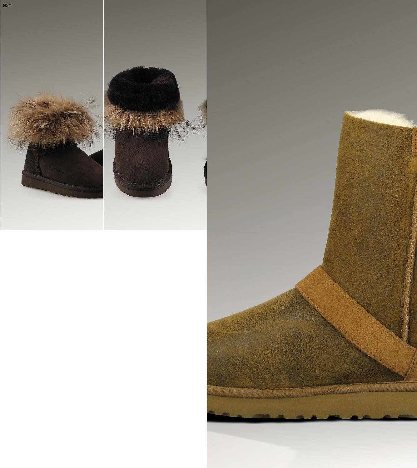 ugg boots bailey bow damen grau