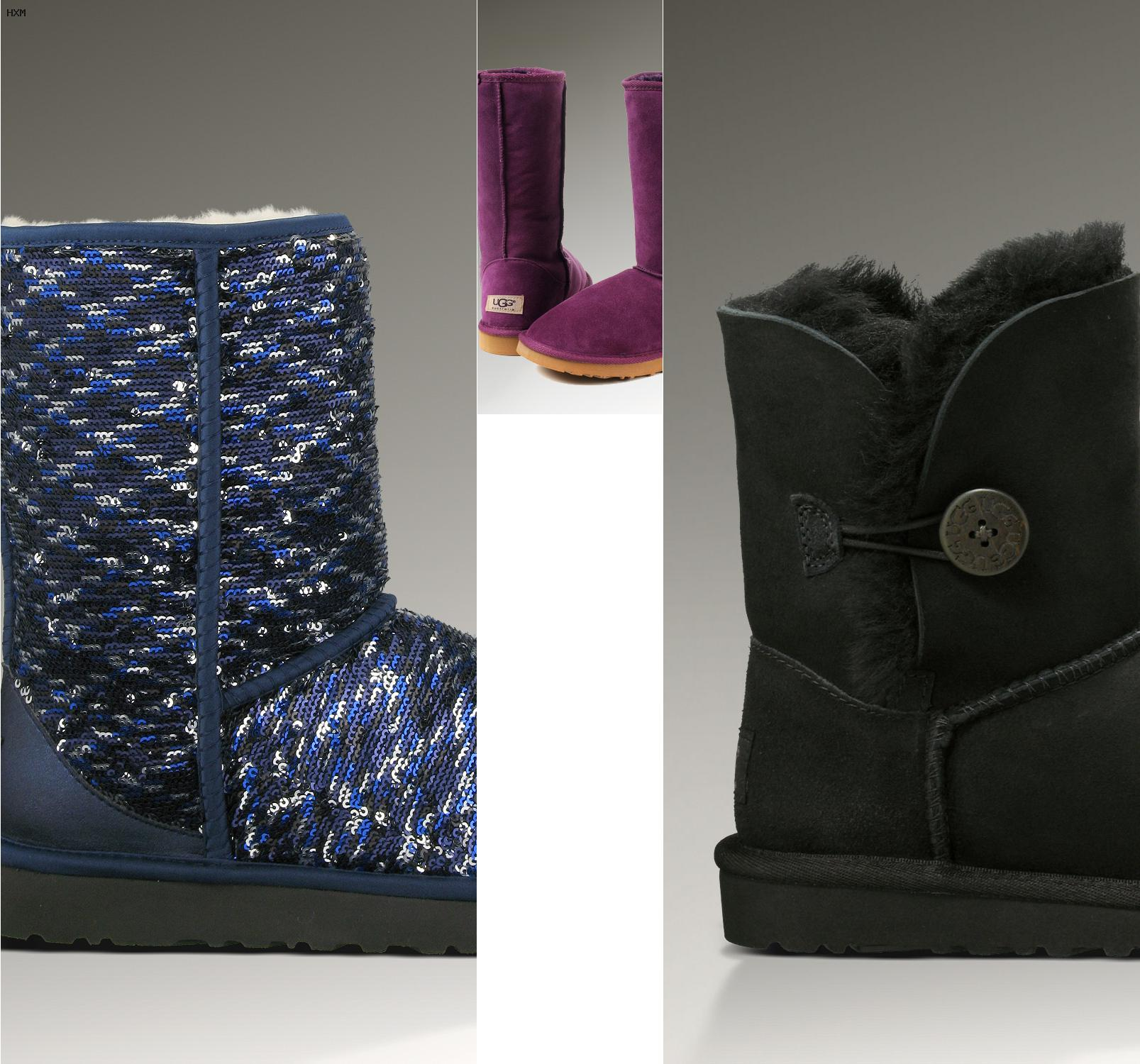 e80c39fbcd ugg boots schwarz kurz mit schleife